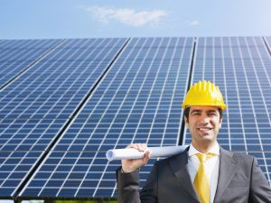 Solar panels and business property values